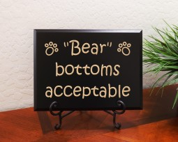 Bear bottoms acceptable