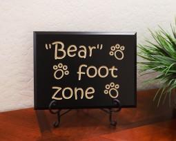 Bear foot zone