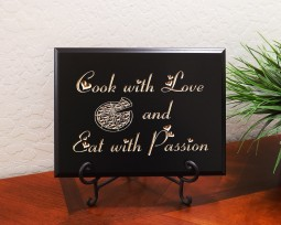 Cook with Love and Eat with Passion