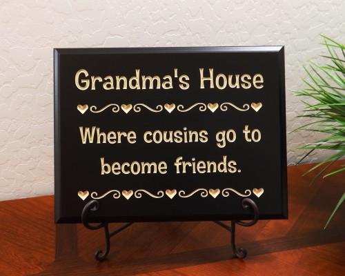 Grandma's House Where cousins go to become friends.