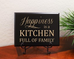 Happiness is a KITCHEN FULL OF FAMILY