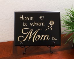 Home is where Mom is.