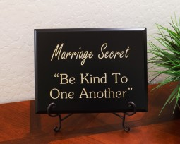 """Marriage Secret """"Be Kind To One Another"""""""