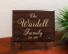 Personalized Family Established Year Ambassador Font