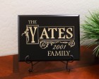 Personalized Block Name, Decorative Border, Year and Family