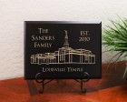 Personalized Family Established Year Louisville LDS Temple