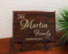Personalized Family Established Year Lovers Font