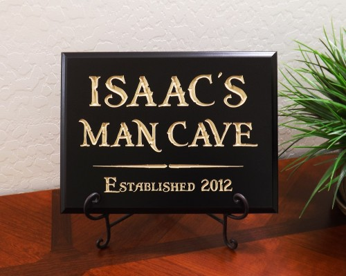 Personalized Name Man Cave Established Year