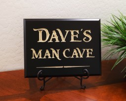 Personalized Name Man Cave