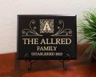 Personalized Monogram Family Established Year