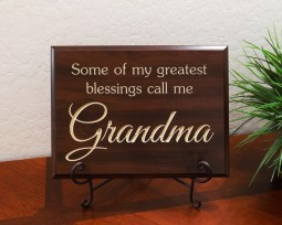 Some of my greatest blessings call me Grandma