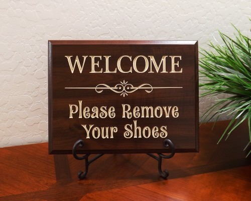 WELCOME Please Remove Your Shoes
